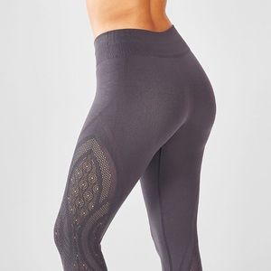 Fabletics SculptKnit Mid-Rise Statement Leggings